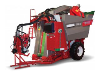 Mașină de recoltat struguri, tractată, Bargam V-TRAIN TRS