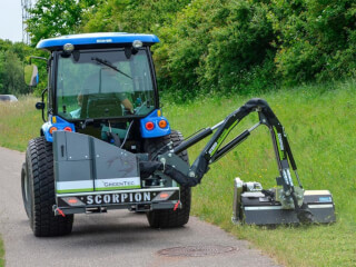 Tocătoare cu braț articulat, GreenTec Scorpion 330-430