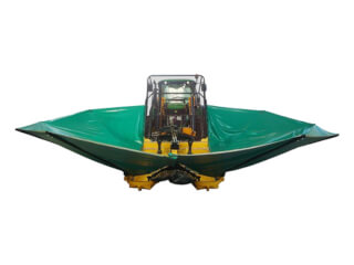 Platforma de culegere măsline și fructe, separat de tractor, Moresil 350
