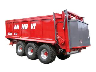 Remorcă pentru împrăștiat gunoi, cu role, F.lli Annovi RS 200P