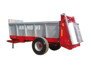 Remorcă pentru împrăștiat gunoi, cu role, F.lli Annovi RS 90P