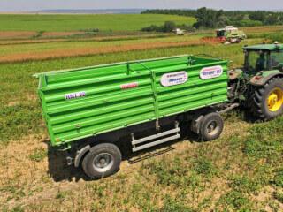 Remorcă pentru transport cereale, Madara DUNAV RNT