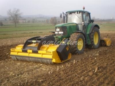 Tocătoare resturi vegetale purtată, cu montare spate, MÜTHING MU-Farmer