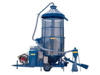 Uscător de cereale vertical, cu foc direct, 130MZ