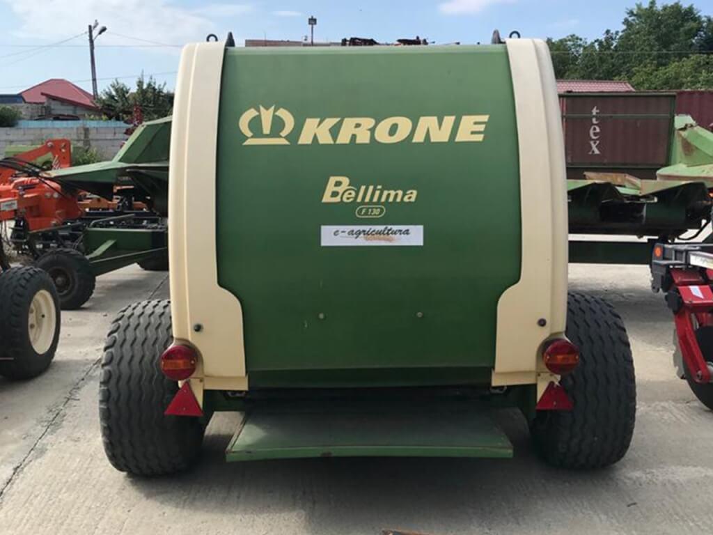 Presă de baloți rotunzi, KRONE F130